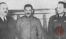 Molotov, Stalin in Tito med II. svetovno vojn v Kremlju.