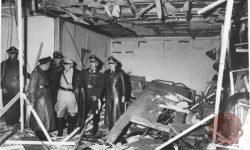 Volčji brlog po poskusu atentata na Hitlerja, FOTO Wikipeida