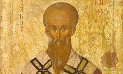 Ikona Sv. Klimenta Ohridskega (FOTO: Wikipedia)