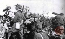 Italijanski vojaki tekom II. soške ofenzive, FOTO Wikipedia