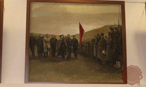 Tito pozdravlja partizanske enote v Bihaški republiki, FOTO: Danijel Osmanagić