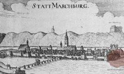 Ilustracija Maribora iz 17. stoletja, FOTO Wikipedia