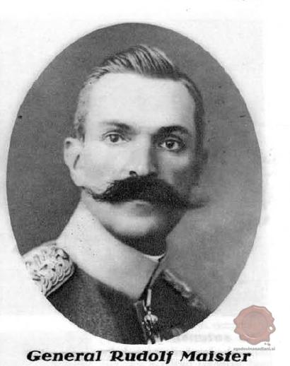 Rudolf Maister, Ilustrirani Slovenec, 1.12.1928, str. 387