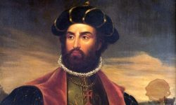 Vasco da Gama, FOTO Wikipedia (delo portugalskega slikarja Antónia Manuela da Fonsece iz leta 1838)