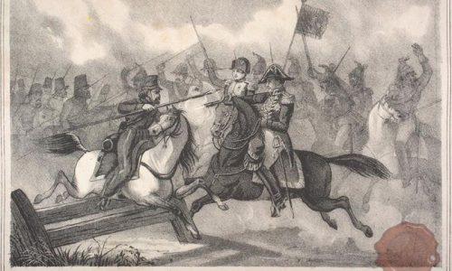 Tekom bitke so ruski kozaki skoraj zajeli francoskega cesarja Napoleona Bonaparta, a ga je rešil general Gaspard Gourgaud (FOTO: Wikipedia)