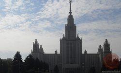 Današnjo glavno zgradbo Moskovske državne univerze (Lomonosov) so zgradili v času sovjetskega voditelja Josifa Stalina (FOTO: Danijel Osmanagić)
