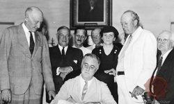 Roosevelt v času prvega predsedniškega mandata, FOTO: Wikipedia