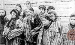 Prizori ob osvoboditvi koncentracijskega taborišča (januar 1945), FOTO Wikipeida