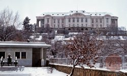 Tajbeg palača v Kabulu kjer je bil usmrčen Hafizullah Amin; Palačo je v času vojne uporabljala sovjetska 40-a armada (FOTO: Wikipedia)