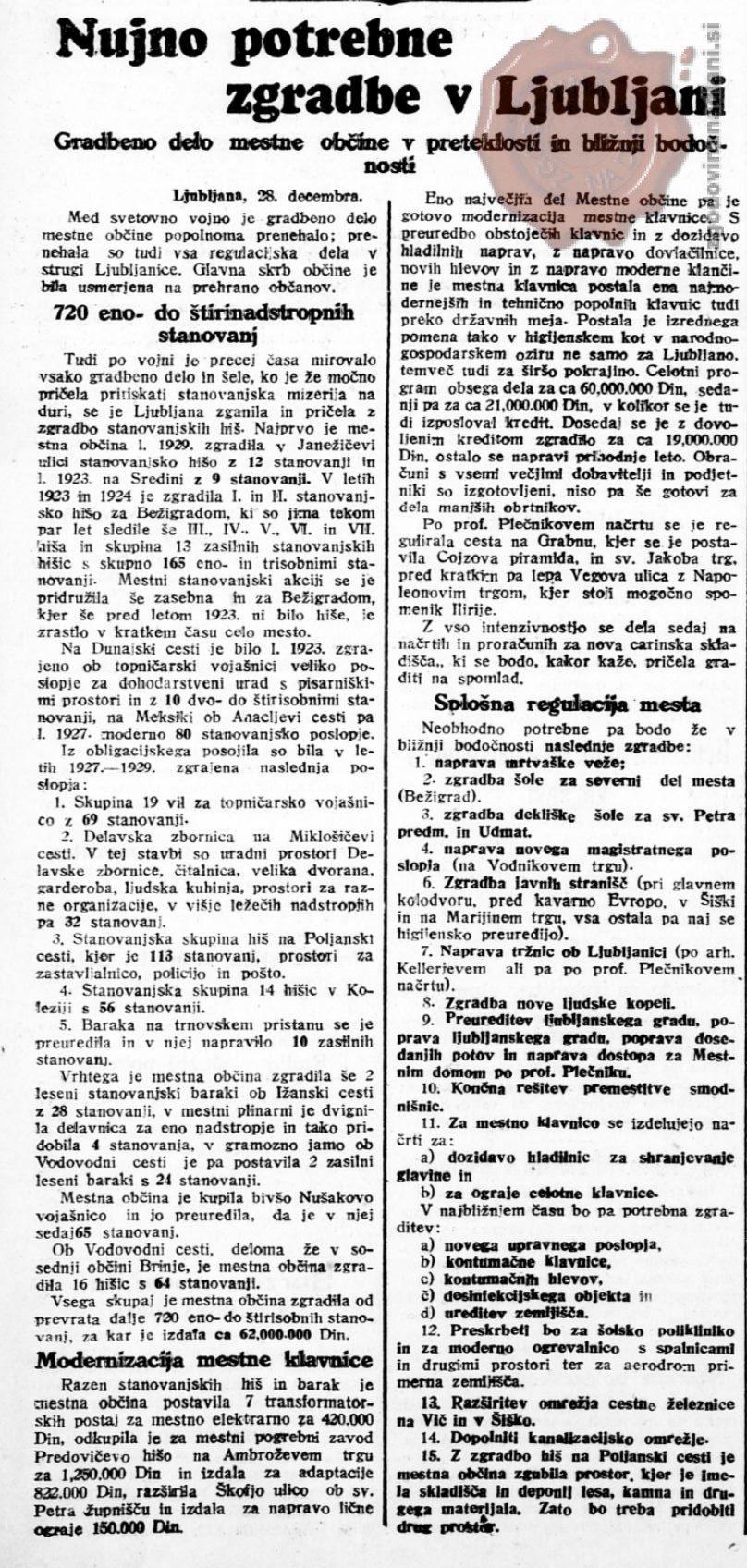 Slovenski narod, 28.12.1929, str. 2.
