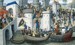 Križarska osvojitev Konstantinopla, FOTO: Wikipedia