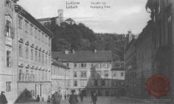 Palače na Novem trgu proti Bregu, 1906, ZAL, Fototeka (LJU 342), POZ lIl-G1-010-001